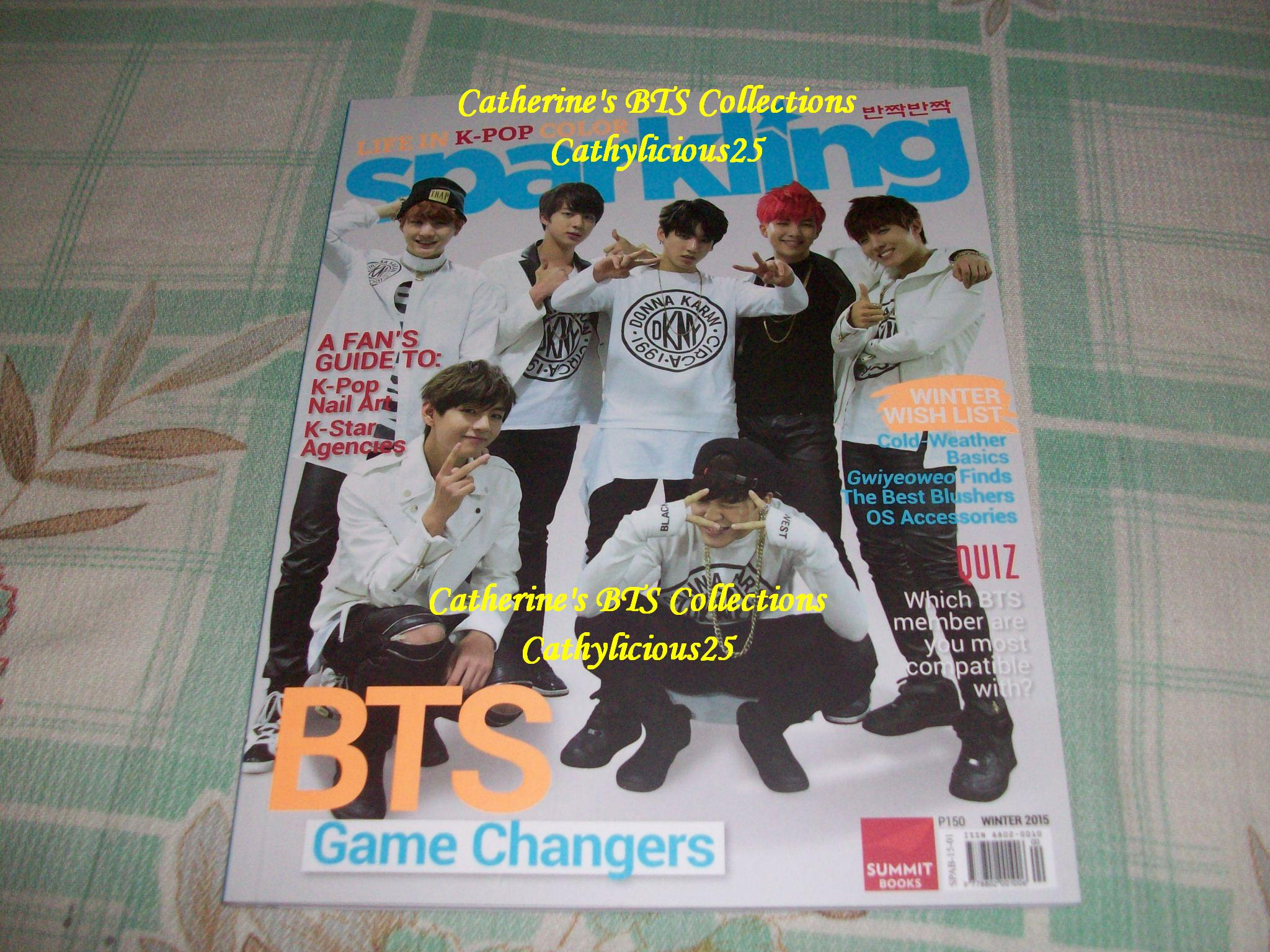 My BTS Sparkling Magazine | MY EXO COLLECTIONS