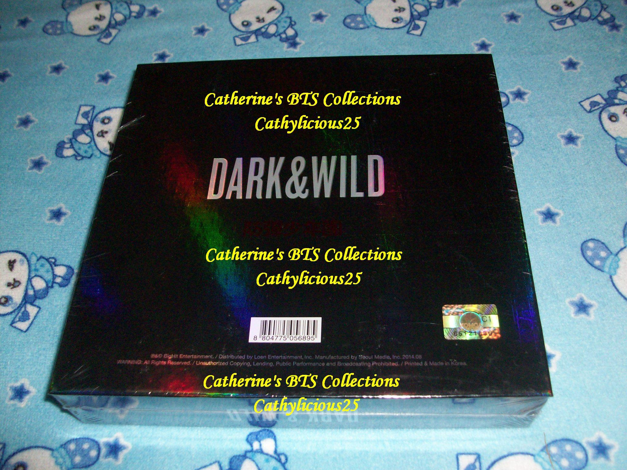 My Bts Dark And Wild Album My Exo Collections