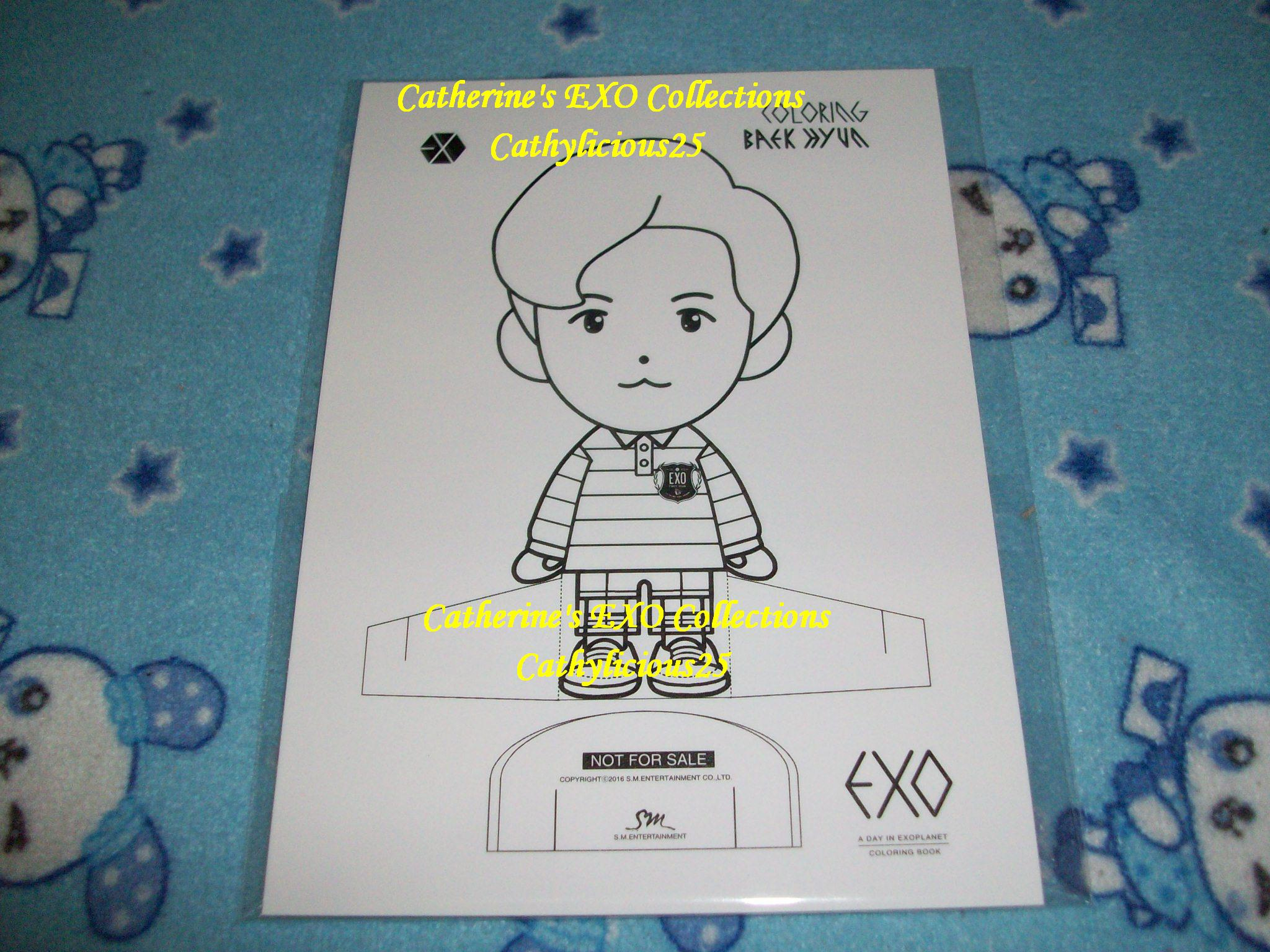 Gambar Exo Chibi Coloring Pages Sketch Page View Larger